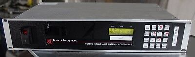 rc1500 single axis dish controller by research  concepts