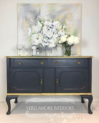 Marylin Painted Queen ann Sideboard