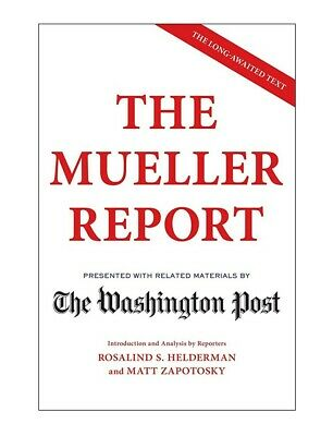 The Mueller Report by The Washington Post PAPERBACK 2019, BRAND NEW ⭐⭐⭐⭐⭐