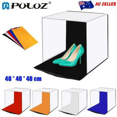 PULUZ Studio Light Portable Photography Box Photo Shooting Tent Foldable Cube AU
