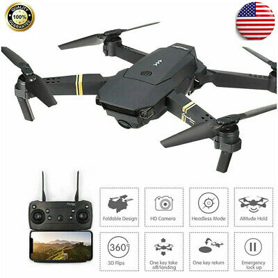 Drone X Pro 2.4G Selfi WIFI FPV W/ 720P HD Camera Foldable RC Quadcopter Gift US