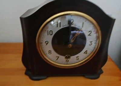 Vintage Smiths Enfield Mantle Clock C195o's