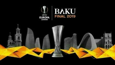 2 ticket BIGLIETTI FINALE EUROPA LEAGUE BAKU 29/05/2019 cat. 3