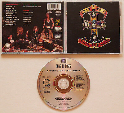 Guns N´Roses - Appetite For Destruction (1987) Paradise City,Sweet Child O' Mine