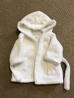 White Company Baby Dressing Gown 0-6