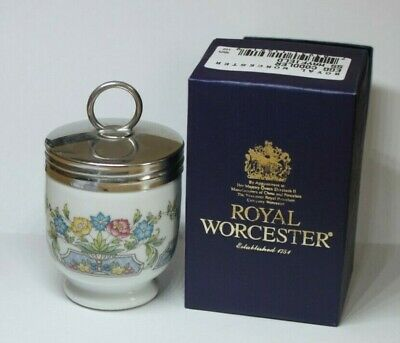 Royal Worcester. EGG CODDLER. MAYFIELD. KING SIZE BOXED. Good condition.