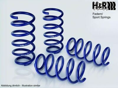 H&R 28840-1 Sportfedersätze/Performance Lowering Springs