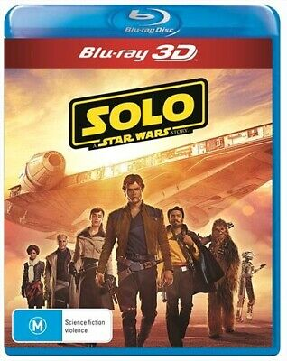 Solo - A Star Wars Story 3D : NEW 3-D Blu-Ray