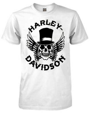 Harley-Davidson Men's Way of Life Skull T-Shirt Black S-5XL MEN WOMEN