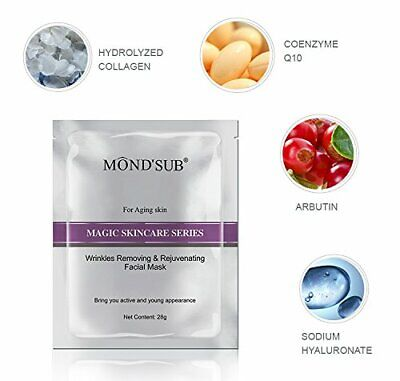 BEST ANTI-AGING SPA Treatment Alginate Face Mask Cleansing