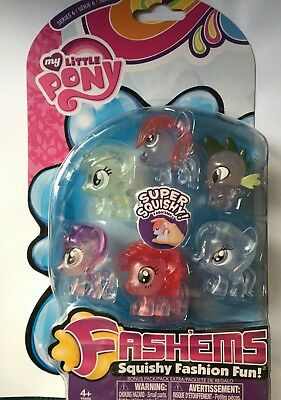 My Little Pony Fashems Mashems Series 6 Bonus Pack Boxed & Sealed