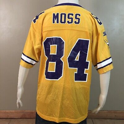 VTG RARE RANDY Moss Minnesota Vikings T Shirt 90's Skol Football