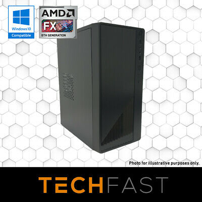AMD Quad Core | 8GB DDR4 | 120GB SSD | Home & Office Desktop Computer PC