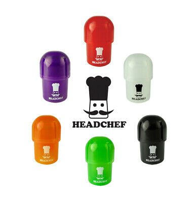 Head Chef Pod Grinder Crusher Storage Stash Pot Waterproof All In One Air Tight