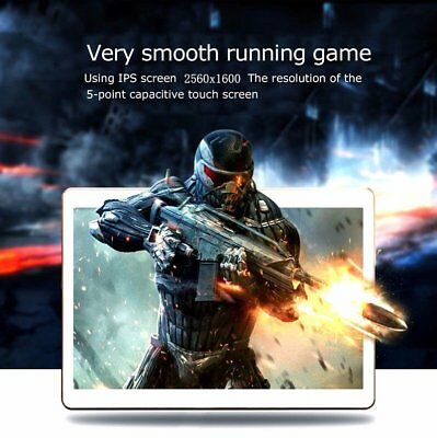 """10,1"""" Tablet PC 4G+64G Octa Core Android7.0 IPS Dual SIM 2Kamera Bluetooth4.0m H"""