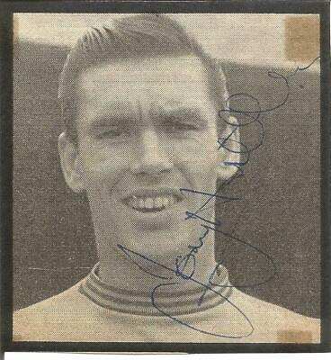 Football Autograph Tony Hateley Signed Newspaper Picture 7.5cm x 8cm Approx F942