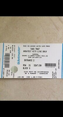 Take That Tickets - Dublin - April 29th