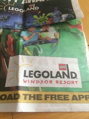 2 X LEGOLAND Windsor Resort Tickets for Friday, 17th May, 2019 (17/05/19)