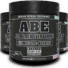 Applied Nutrition ABE Ultimate Pre Workout 30 Servings All Black Everything 315g