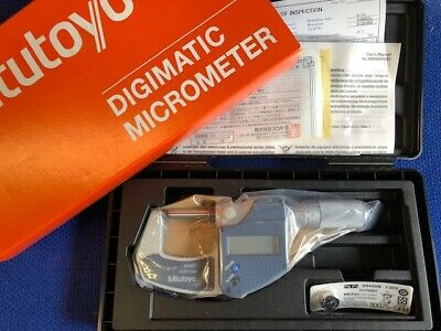 "Mitutoyo Digital Micrometer  0-1"" 0-25mm Friction Thimble 293-832-30 Brand New"