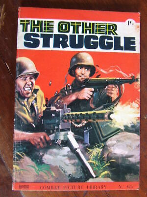 Combat Picture Library 423.   B & W comic strip stories. c1970.