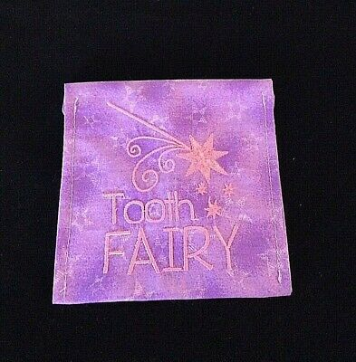 Tooth Fairy Pouch - Under Pillow Tooth Pouch - Tooth Holder