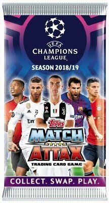 Match Attax 18/19 UEFA Champions League UCL 2018/19 100 Club Cards