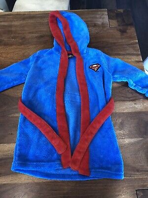 Superman Dressing Gown  18-24 Months