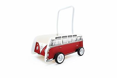 Wooden Walker Classical VW Camper Bus T1 Preschool Early Learning Toddler NEW