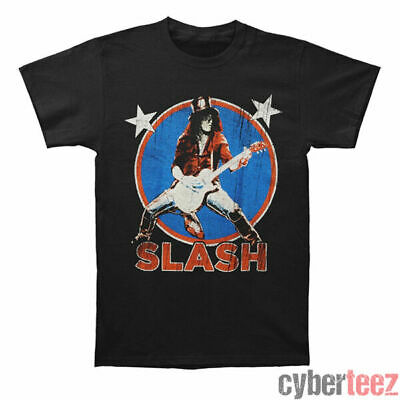 GUNS N ROSES T-Shirt Slash Stars New S-5XL