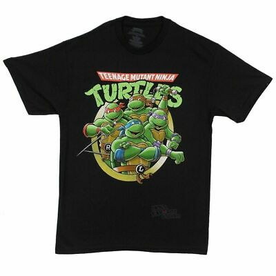 Teenage Mutant Ninja Turtles Group Licensed Adult T Shirt S-5XL MEN WOMEN