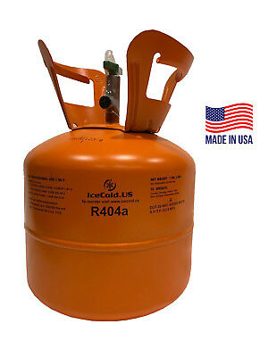 R404a, R404, R-404, 404a Refrigerant *7.5lb* Full and Factory Sealed