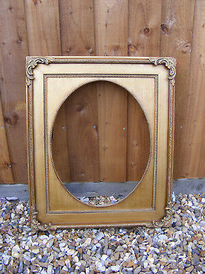 Vintage Rococo French Antique Style Ornate Gold Gilt Gild Picture Frame