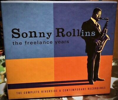 RIVERSIDE 5CD Box 5RCD-4427-2: Sonny Rollins - The Freelance Years - 2000 USA NM