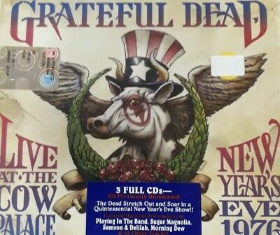 Grateful Dead- Live At Cow Palace New Year's Eve Ny 76 *Cd 3Pz Nuovo Sigillato