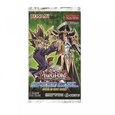25 Speed Duel: Arena Of Lost Souls Booster Packs