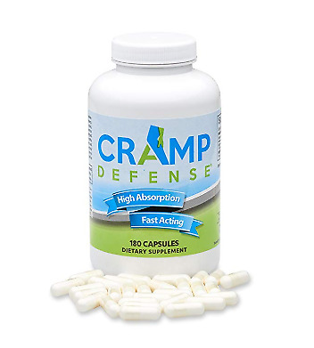 Cramp Defense Stop Muscle Spasms Pain Relief Organic Magnesium Non-Laxative NEW