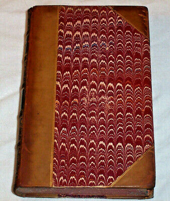ca. 1885 Antique Leather JONATHAN SWIFT His Life , Poems & Riddles , Ireland