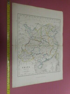 100% Original  China  Map By H G Collins C1856  Low Start