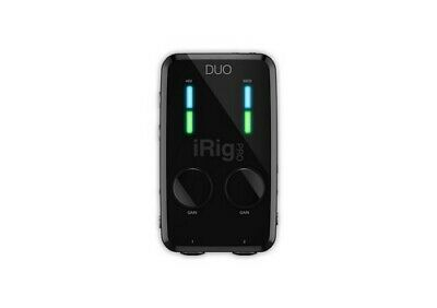IK Multimedia iRig Pro Duo Mobile Audio/MIDI Interface for iOS, Android, Mac/PC