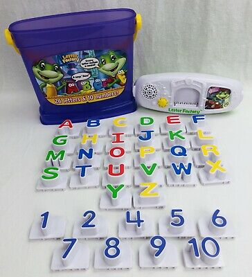 LeapFrog Letter Factory Phonics & Numbers 1 to 10 Alphabet A to Z (Missing #3)