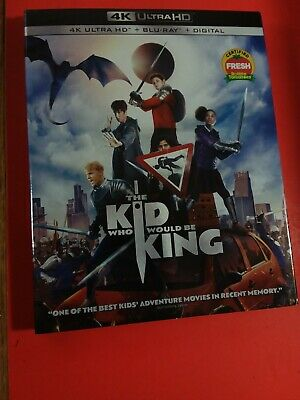 The Kid Who Would Be King 4K Blu-rayNODigital Slipcover Brand NEW FREEShipping!