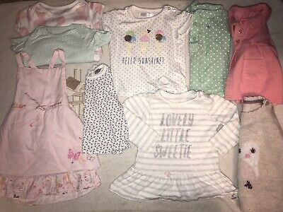 Baby Girl Clothes Bundle 6-9 Months 🎀 9 Items 🎀