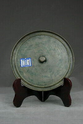 chinese Ming Dynasty round bronze double-chord bronze mirror Collection