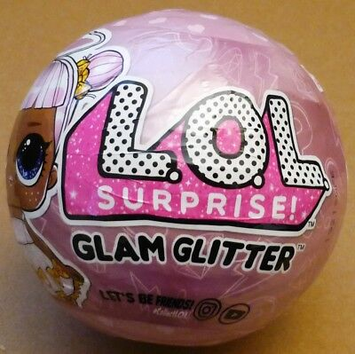 LOL Surprise! Let be Friends!  Glam Glitter Series - 1 L.O.L. Doll/Ball - Sealed