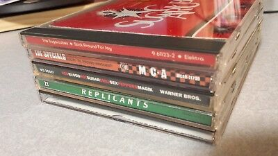 Lot of 5 CDs 1990s Cracker Specials Replicants Sugarcubes Red Hot Chili Peppers