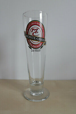 Monte Carlo Resort And Casino Pub And Brewery Pint Glass – Las Vegas Nevada