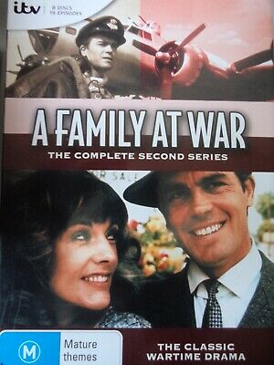 A FAMILY AT WAR - Series 2 8 x DVD Set Exc Cond! Complete Second Season Two