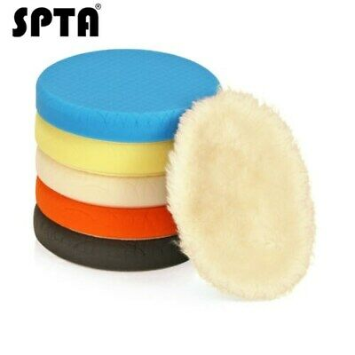 "SPTA 7"" (180mm) Compound Polishing Pads Buffing Pads Set -Select Color"