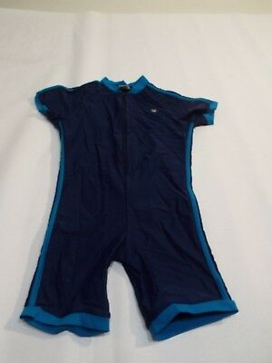SUN PROTECTION girls boys navy bathing modest swim Suit Cover 1 PC swimming